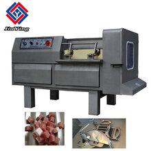大型冻肉切丁机,切肉丁机带骨冻肉鲜肉切丁机厂家图片