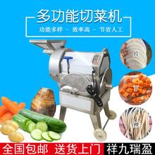 多功能切菜机TJ-312台湾九盈厨房专用切菜机切丝切丁切片机图片
