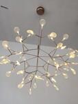 Moooi雪花灯LED橄榄枝雪花叶子艺术吊灯树枝萤火虫吊灯创意树枝灯图片