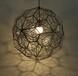 意大利经典设计后现代时尚不锈钢蚀刻多面球钻石吊灯灯饰灯具