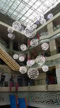 无锡创意餐厅设计师艺术球LED灯厂家直销