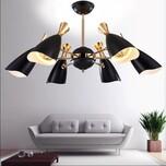 铭星灯饰喇叭形吊灯新款装饰吊灯北欧创意吊灯后现代喇叭形吊灯复古工业风图片