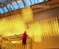 光立方led灯工程定制大型酒店大堂会所方格架子造型吊灯别墅复式楼豪华满天星吊灯