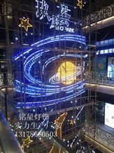 玖龙荟灯饰画LED灯饰画定制深圳商业幸运棋牌游戏心景观灯画