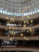 大型商场中庭装饰新年吊饰定制工厂铭星定制中庭景观灯图片