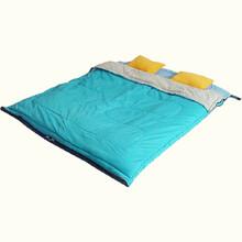 旷野户外成人睡袋旅行旅游常备便携式薄酒店隔脏床单纯棉户外用品