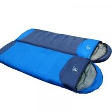 睡袋成人春夏户外秋冬四季加厚保暖室内隔脏露营双人睡袋