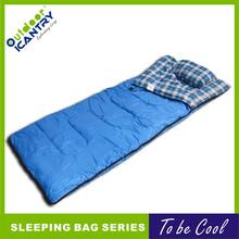 旷野户外超轻信封睡袋便携式野营加厚保暖睡袋单人信封睡袋