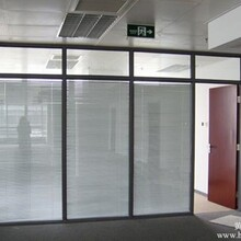铝合金玻璃隔断专业厂家——聚美玻璃隔断图片