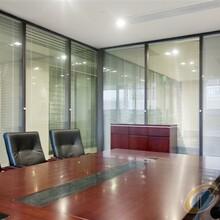 济南铝合金玻璃隔断专业生产厂家——聚美玻璃隔断图片