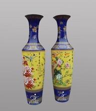 朋友乔迁送什么送对景德镇大花瓶喜庆陶瓷大花瓶