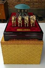 陕西西安送外宾陕西文化礼品选铜车马历史文化礼品铜车马