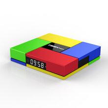 新外观设计八核网络电视盒智能安卓电视盒16G内存带蓝牙WiFi图片