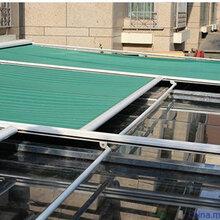 高档天幕篷定做阳光房电动天幕棚户外自动遮阳蓬轨道式遮阳棚