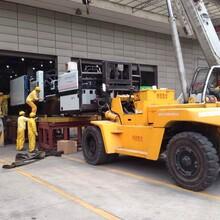 广州开发区注塑机搬运服务,注塑机吊装公司