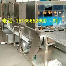 供應不銹鋼連續式洗箱機洗筐機價格食品專用蒸汽洗筐機圖片