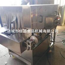 小型洗箱机2米洗筐机价格洗筐机生产厂家物料箱清洗线图片