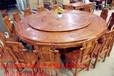 大信杉江红木家具酸枝餐桌图片