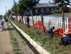 上海闵行区小区护栏维护翻新油漆翻新厂房广告灯箱油漆翻新