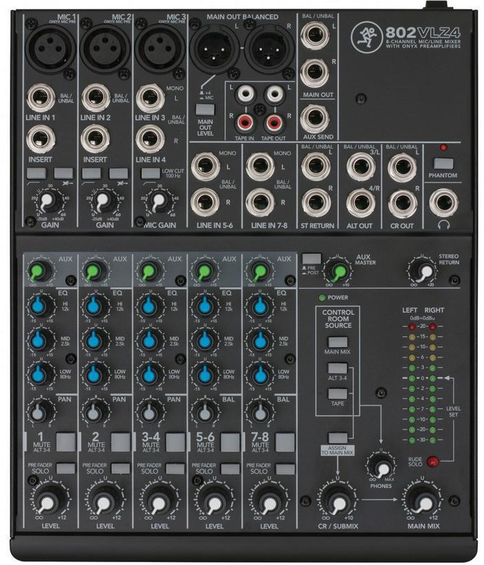 美琪销售新款RunningMan802VLZ4调音台