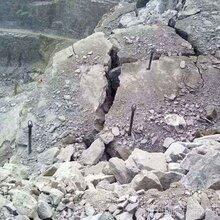 荆州高速边坡几十万方硬岩破碎锤很慢推介二氧化碳图片