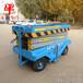 济南牛力厂家专业制造安装移动牵引式升降平台