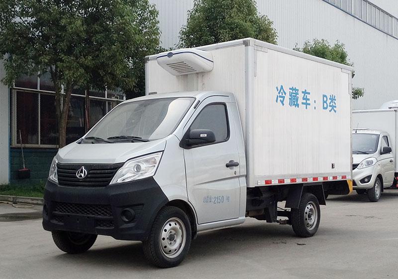 长安7方-5度冷藏车多少钱在哪里购买
