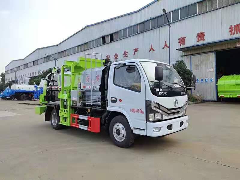 台州定制程力威餐厨垃圾车品质优良,国六餐饮垃圾收集车