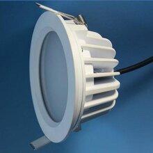 新款防水LED筒灯外壳配件厂家私模LED筒灯配件批发图片