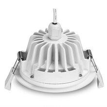 入口雨棚IP65防水LED筒灯外壳工厂现货拓普绿色科技防水灯具外壳图片