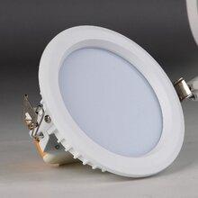 LED筒灯4寸8W开孔120mm嵌入式LED工程筒灯图片