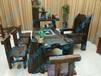 原生态茶桌老船木茶台功夫茶桌椅组合图片价格