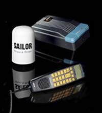 銥星船載衛星電話SC4000最多可以接入4個手持衛星電話圖片