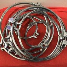 风管抱箍,卡箍,管箍,桶箍,不锈钢v型卡箍,U型沟槽抱箍图片