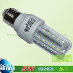 索能U型led玉米灯泡,E27螺口LED节能灯,LED玉米灯批发,严谨LED玉米灯工艺