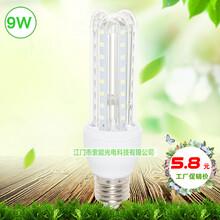 9We27螺口led灯泡,超高亮2835白光玉米灯,索能节能球泡灯厂家,家用9W室内玉米球泡灯图片