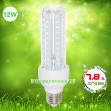 索能3U透明管LED节能灯,庭院玉米灯照明,厂家直销节能球泡灯,e27白光家用节能照明