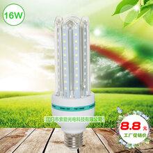 索能高亮度16W玉米灯,仓库照明节能灯,小区路灯E27螺口节能灯,车间节能螺旋灯泡