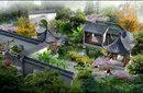 青島園林設計青島景觀設計施工圖效果圖圖片