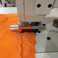 超聲波花邊機無紡布無線縫合機針織布化纖布服裝壓花切邊機圖片