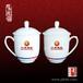 纯手工制作陶瓷茶杯厂家,专业定做旅游纪念礼品茶杯