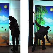 三维立体艺术光栅移门3D光栅隔断装饰画3D效果装饰画图片