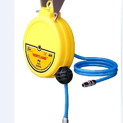自动伸缩气动卷管盘卷管机气鼓气管卷盘GQ45卷管器4.5米