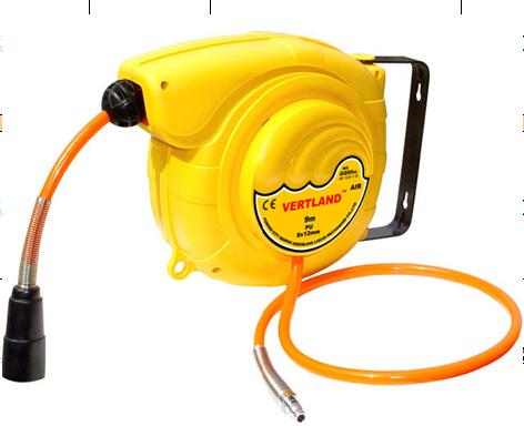 自动伸缩卷管器气鼓GQ120B卷管轴格林堡卷管盘修车洗车用具