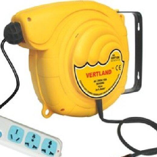 格霖堡自动伸缩电鼓电缆盘6米3芯插线板插座拖线板