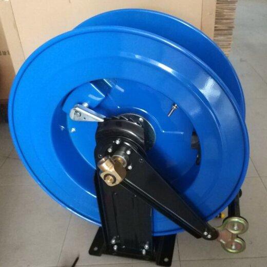 广东自动伸缩回收卷管器绕管器气鼓卷管盘绕线盘卷管机盘管器