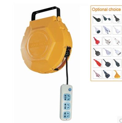 自动伸缩电鼓卷管盘电缆盘GDT100电线卷管器伸缩插线板