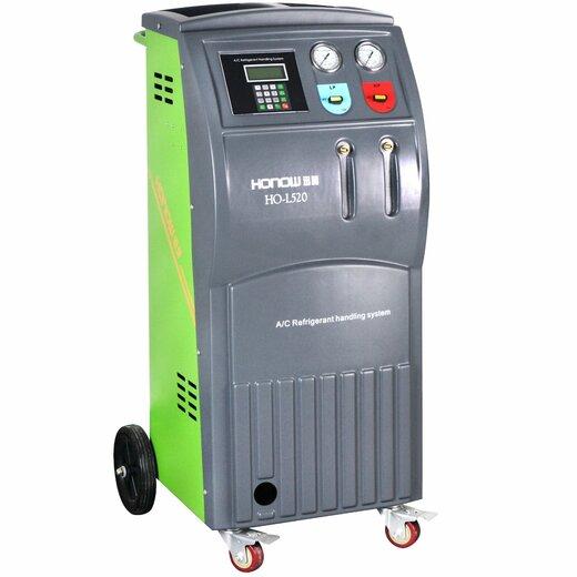 汽车冷媒加注回收机全自动L520雪种泵油R134a空调制冷液检漏