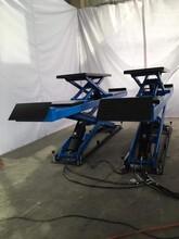 子母大剪举升机3吨升降汽车升降机销售地藏式修车厂4S店必备图片