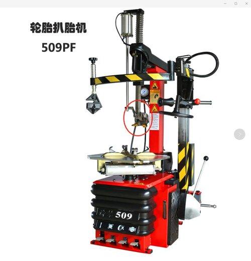 免撬棍拆胎机509PF后仰全自动带辅助臂拆装机诗琴扒胎机广东厂家